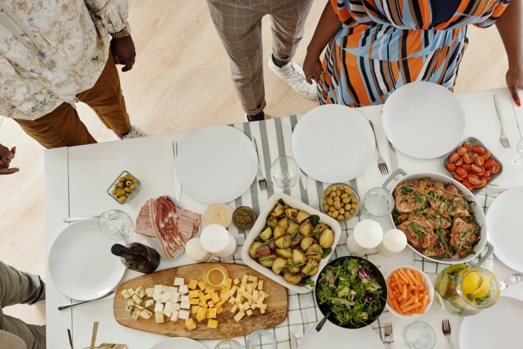 African Catering Buffet
